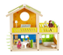 hape happy villa doll house furnished