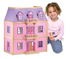 melissa doug multi-level wooden dollhouse multi