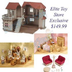 calico critters luxury townhome gift chipmunk