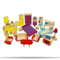 Save JT116 Heritage Playset Dolls Furniture