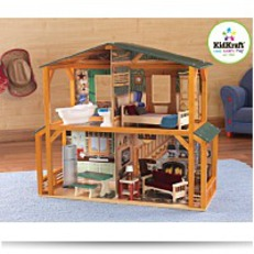 Save Kid Kraft Campfire Cabin Dollhouse