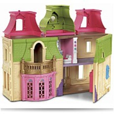 Save Loving Family Dream Dollhouse With Caucasian