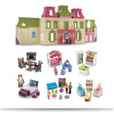 Save Loving Family Dream Mega Set Dollhouse