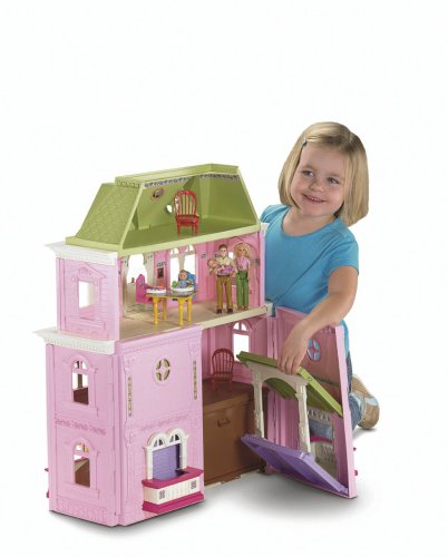 loving family dollhouse and fisher price loving family grand dollhouse