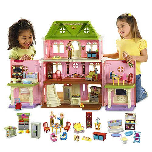 Loving Family Tm Grand Dollhouse Super Dollhouse