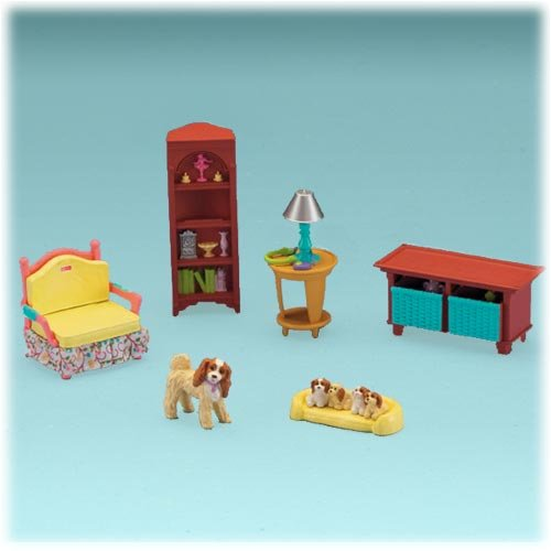 ... Fisher Price Loving Family Tm Grand Dollhouse Super Set Caucasian Family  Image 3 ...