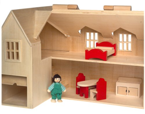 Kid Kraft Majestic Mansion, Melissa And Doug Fold And Go Dollhouse