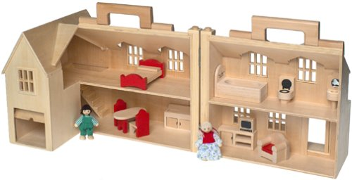 Marvelous Kid Kraft Majestic Mansion, Melissa And Doug Fold And Go Dollhouse