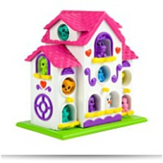 Squinkie Girl Zinkies Bird House Theme