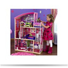 Wooden Modern Dream Glitter Dollhouse