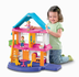 fisher-price dollhouse caucasian family door experience