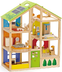 hape season doll house furnished playset