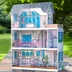pink dream dollhouse welcome barbie's house