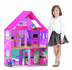 calego modern doll house easy assemble