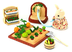 epoch sylvanian families family vegetable gardening