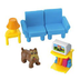 fisher-price dollhouse room fisher includes piece