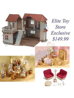 Luxury Townhome Gift Set 2 Chipmunk Figures